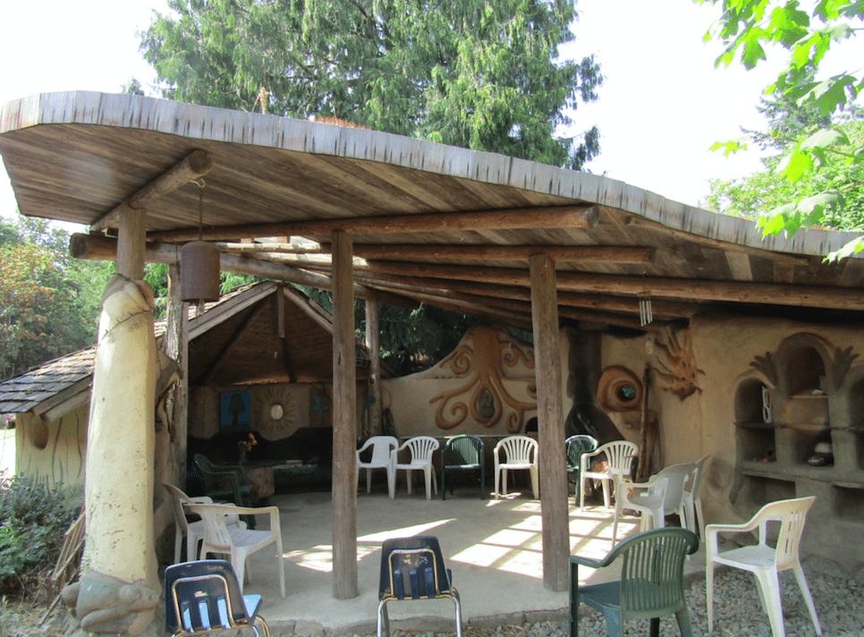 facility with outdoor space
