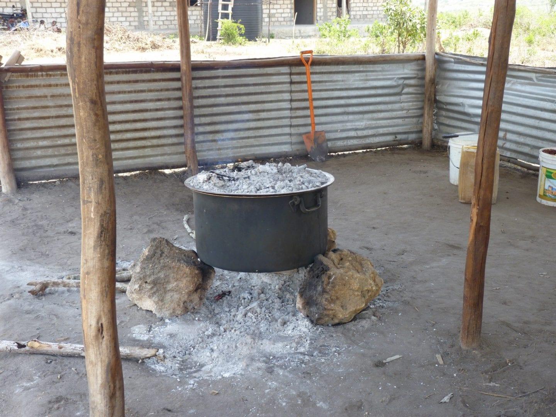 three-stone fire