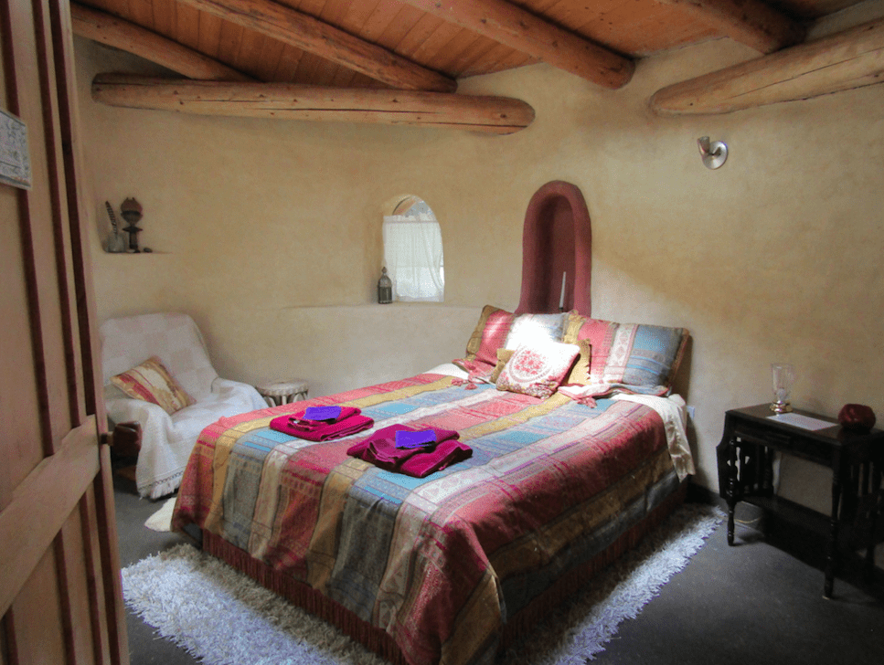 A room at the ecovillage