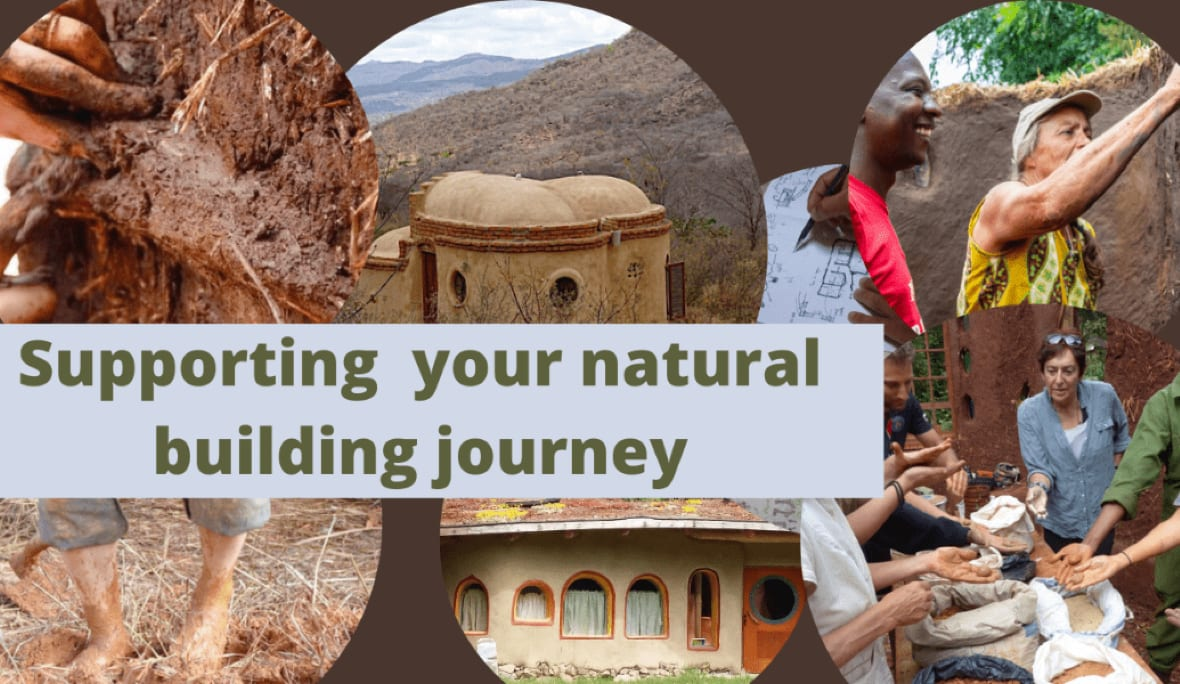 Supporting your natural building journey graphic